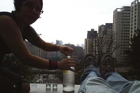 Foto com o Casal Vodka