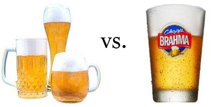 Imagem com chopp e cerveja