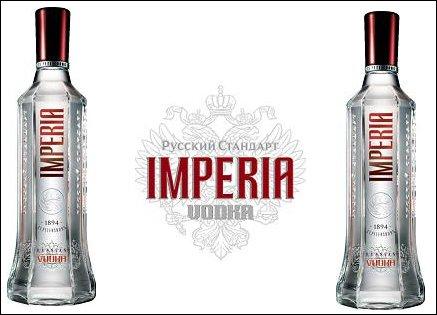 Garrafa da Vodka Imperia