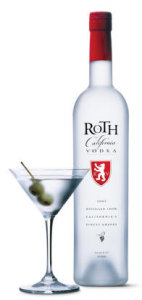 Garrafa da Vodka Roth California