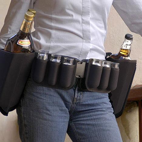 Cinturão com Tequila