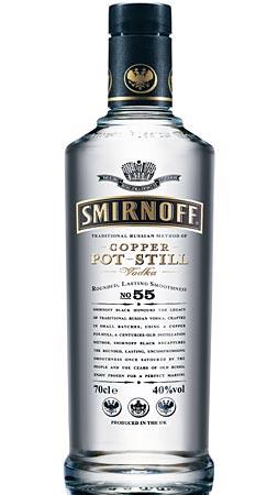 Garrafa de Smirnoff Black