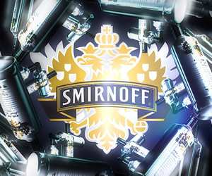 Arte da vodka Smirnoff Black
