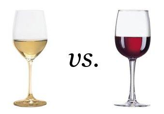 Taças de Vinho Branco e Vinho Tinto