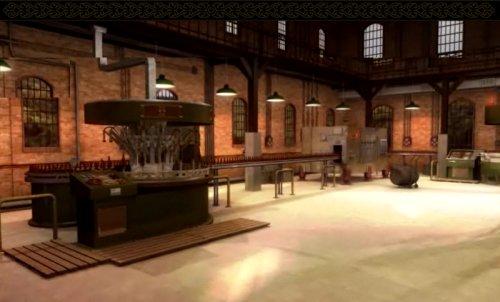Sala de Engarrafamento da Fábrica 3D
