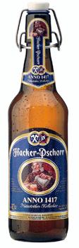 Garrafa da cerveja Paulaner Hacker Pschorr