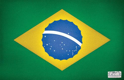 Bandeira do Brasil modificada
