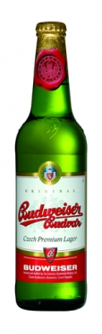 Garrafa da cerveja Budweiser Budvar 12°