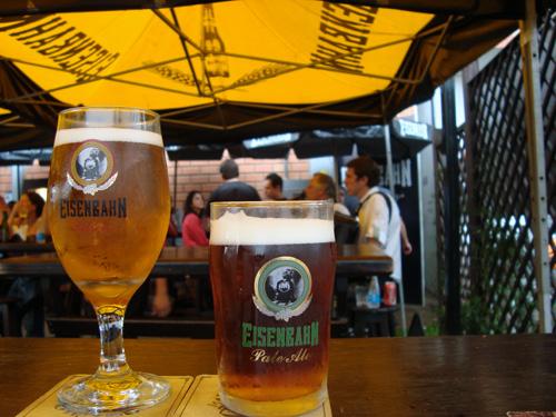 Copos de cerveja Eisenbahn