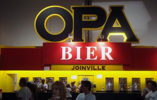 Stand da Opa Bier