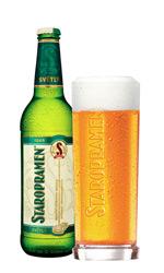 Garrafa da cerveja Staropramen 10°