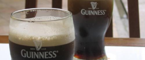 Copos de Guinness