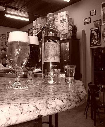 Cerveja e cachaça