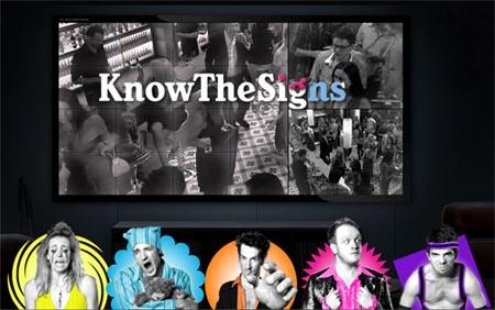 Tela do Knowthesigns