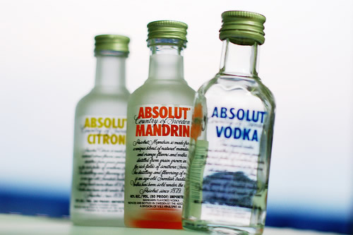 Miniaturas de Absoluts