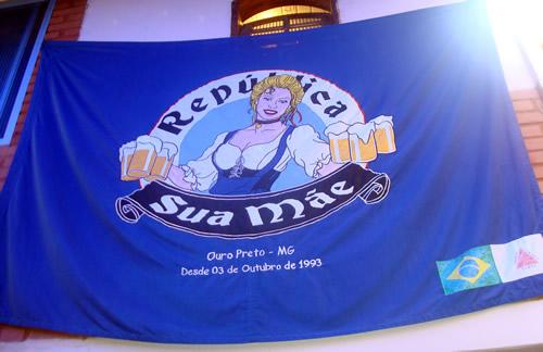 Bandeira da república Sua Mãe