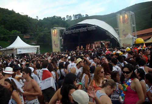 Bloco de Carnaval em Ouro Preto