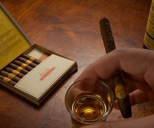 charuto-whisky