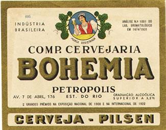 Lembram desse rótulo da Bohemia? Antigo né?