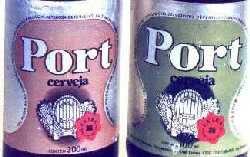 Rótulo da Port