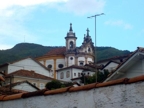 Vista de uma Igreja