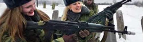 Exportação russa: Armas, Loiras e Vodka, nessa ordem