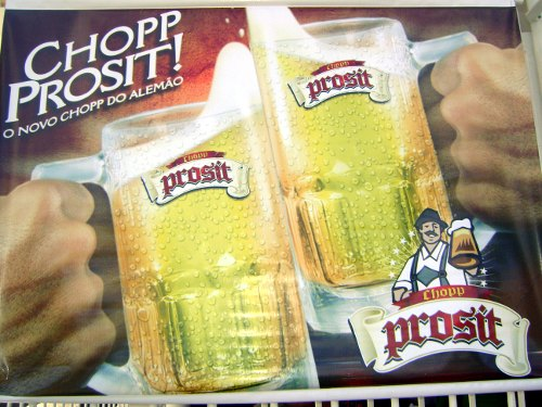 Outdoor do chopp Prosit