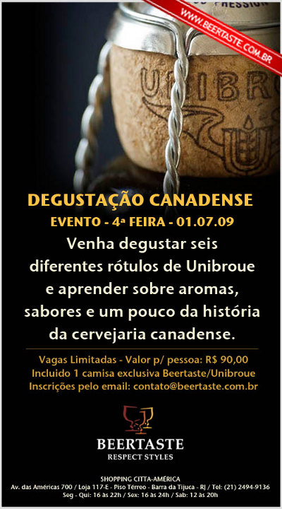 Flyer Unibroue