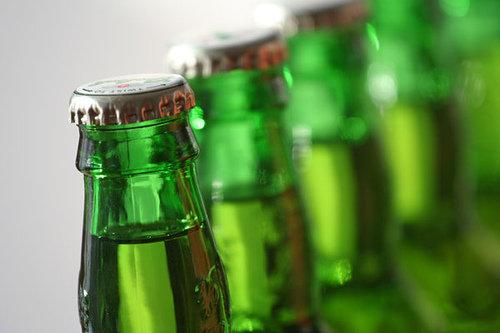 Garrafas de cervejas holandesas