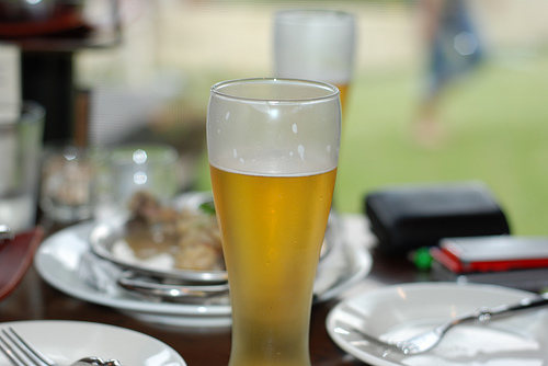Cerveja e comida