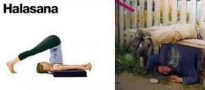 Yoga halasana