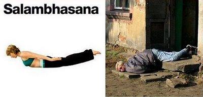 Yoga Salambhasana