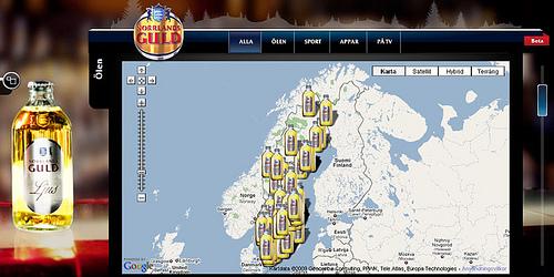 Mapa da cerveja