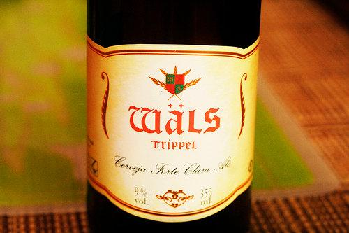 Rótulo da cerveja Wals Trippel
