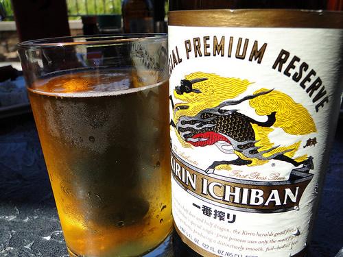 Garrafa da cerveja Kirin Ichiban