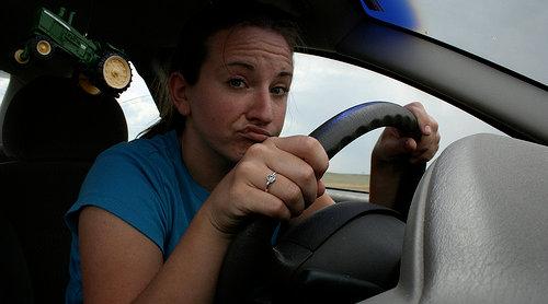 Não sou eu que estou chupando, então posso dirigir.