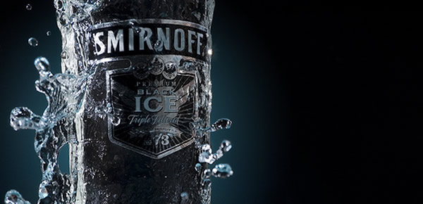 Garrafa de Smirnoff