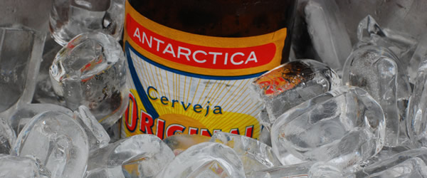 Cerveja Original no gelo