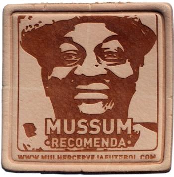 Porta copos do Mussum