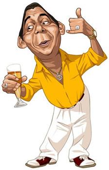 Caricatura do Zeca Pagodinho