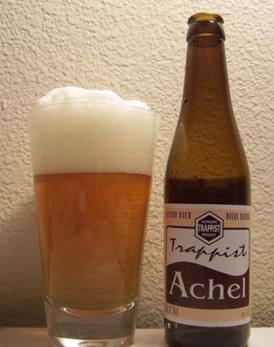 Garrafa da cerveja Achel 8 Blond