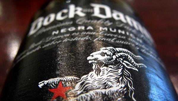 Garrafa da cerveja Bock Damm