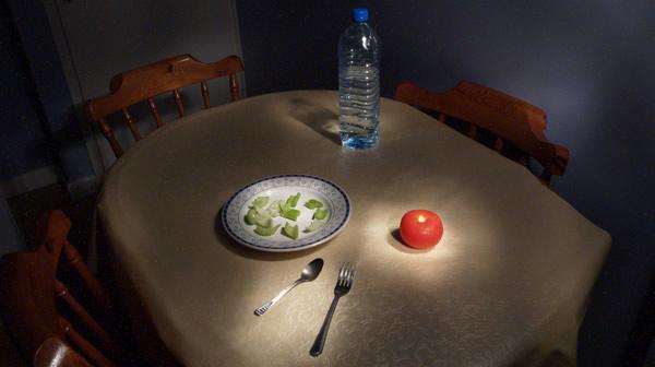 Não prepare essa mesa pra ela