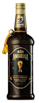 Garrafa do licor Amarula da Copa 2010