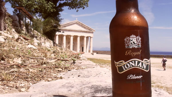 Garrafa da cerveja Ionian