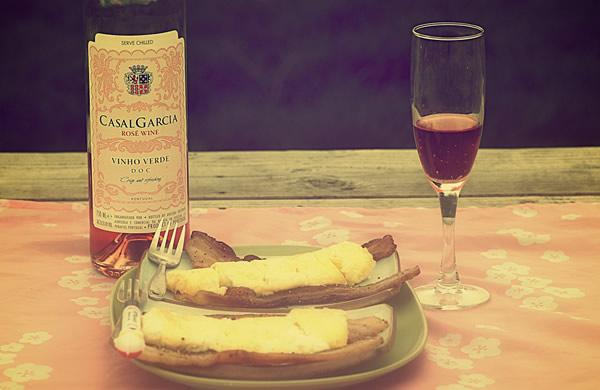 Café da manhã com vinho