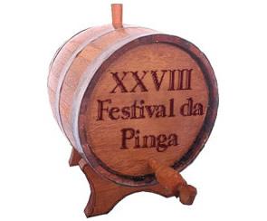 Barril de cachaça do Festival da Pinga em Paraty