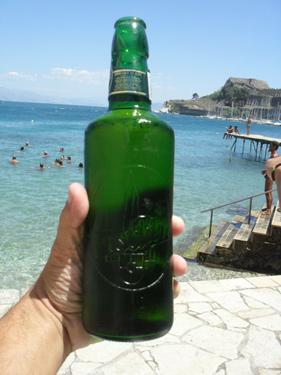 Garrafa da cerveja Fischer Beer
