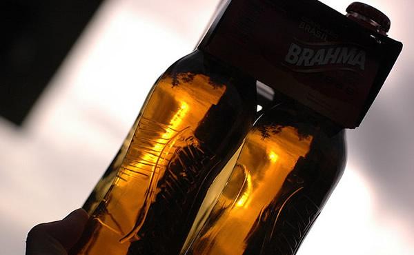 Garrafa da cerveja Brahma Beats