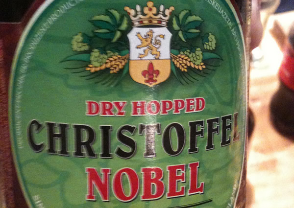 Garrafa da cerveja Christoffel Nobel